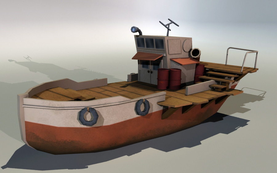 Metal Slug Boat